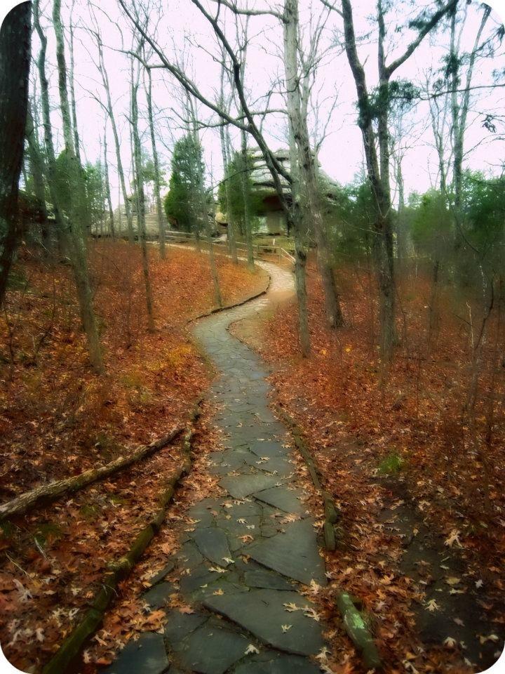 Shawnee National Forrest Garden Of The Gods Illinois