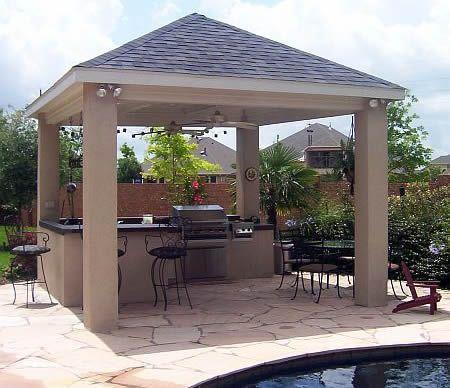 Punica Peyzaj » Hizmetlerimiz: Dış mekan mutfakları. Bahçe mutfakları