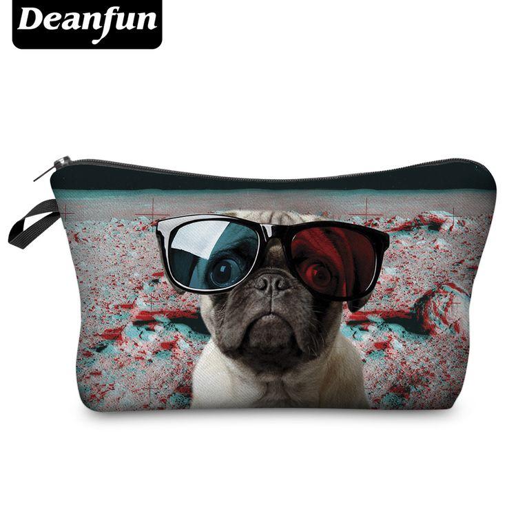 Deanfun 2017 3D Printing Large Cosmetic Bag Fashion Women Brand H58