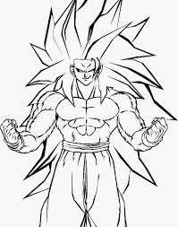 Resultado de imagen para imagenes de goku para dibujar