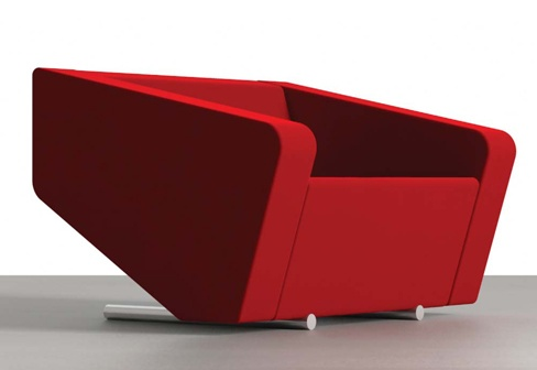 Haha. I don't know how I'd feel sitting in one of these but it sure looks cool xD