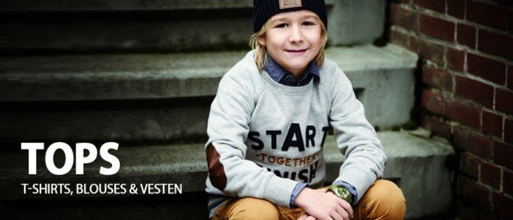 tops - jongens kleding - bij Ko&Flo Kinderkleding | Bengh | Vingino | Muy Malo | SCOTCH en meer. Grote jongens collectie bij www.koflo.nl