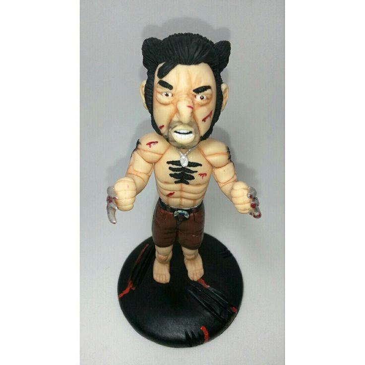 boneco Wolverine feito em biscuit.