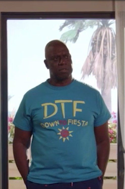 874910ef DTF Down to Fiesta Brooklyn 99 Short-Sleeve T-Shirt Brooklyn Nine Nine  Capitan Ray Holt Funny Shirt - Summer Holiday and Mexico Vacation Tee