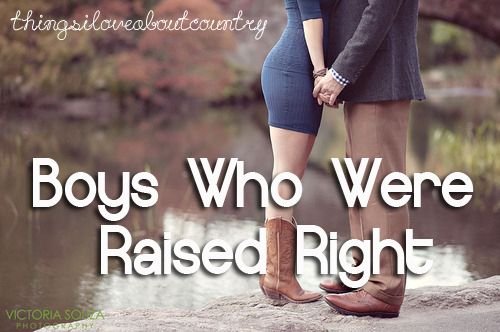 Boys Who Were Raised Right