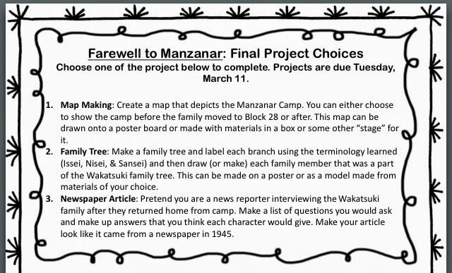 farewell for you to manzanar themes