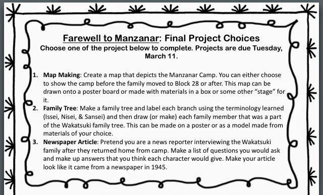 Farewell to manzanar essay