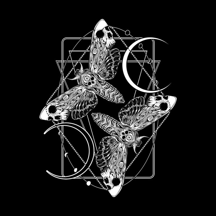 Dance of the Death Moths in 2021 | Witch aesthetic, Art ...