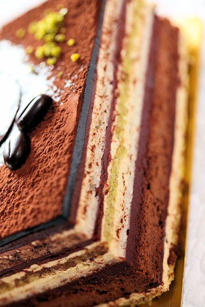 大注目!何層にも重なる魅惑のチョコレートとレイヤーケーキ☆