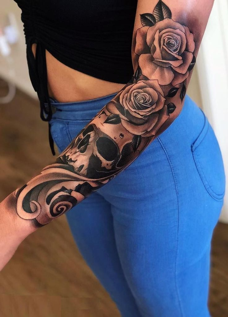 Feed Your Ink Addiction With 50 Of The Most Beautiful Rose Tattoo Designs For Me…   – tattoo design