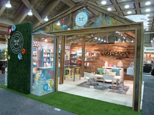 honest company trade show booth design - Photo Booth Design Ideas
