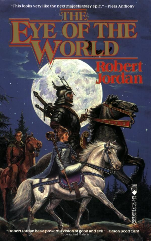 The Eye of the World (The Wheel of Time,Book 1): Robert Jordan: Amazon.com. I hear good things about this. Supposedly it is on par with Tolkien's Lord of the Rings series.