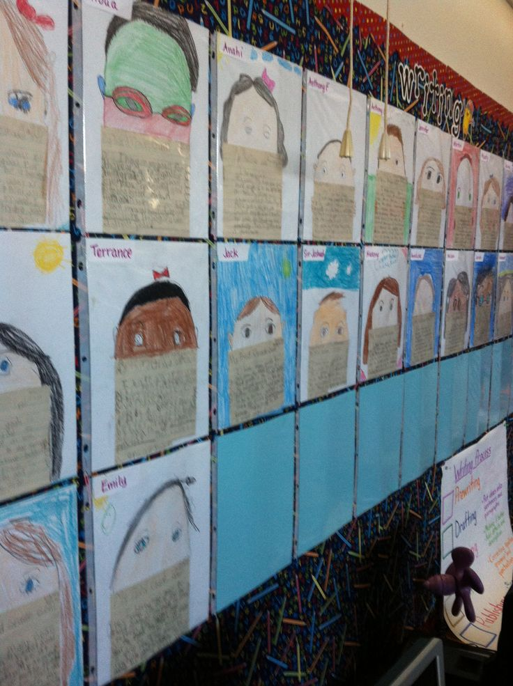 000 First day of school writing wall. Our third grade goals