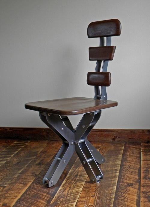 industrial design chair from Brandner Designs.