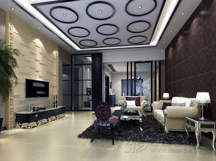 44 Best ديكوراتجبسيات Images On Pinterest  Homemade Home Decor Amusing Ceiling Design Ideas For Living Room Review