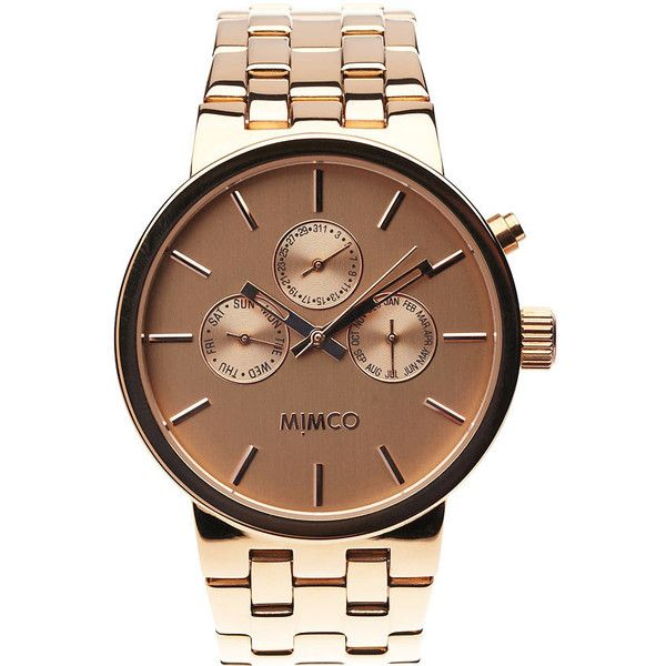 Love rosegold  #mimco #watch