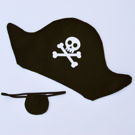 how to make a pirate hat out of felt