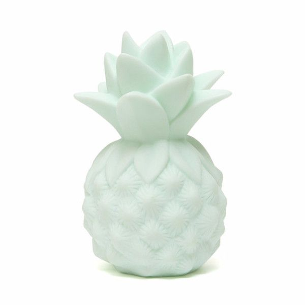 How cute is this pineapple night light to comfort your little one when falling asleep, to join them during sleepovers & holidays and to decorate their room. The pineapple light is a battery operated L