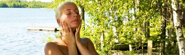 Using A #Sauna To Care For Your #Skin!   Natural Skin Care Tips For Sauna