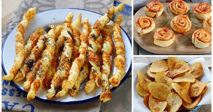 E' giunta l'estate e con essa i tanto amati aperitivi che si trasformano in cena. Vi proponiamo le nostre 6 ricette TOP per un apericena da 10 e lode.