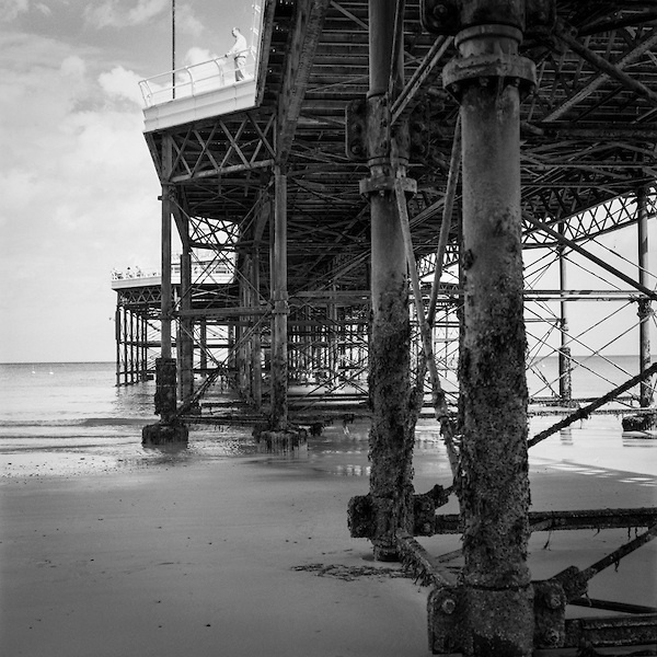 Saatchi art edition man on pier cromer north norfolk photography by paul cooklin