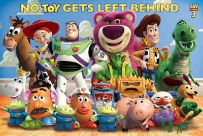 Featuring Woody, Buzz, the villain Lots-o and other characters of the memorable toy gang. It's considered the best movie of the Toy Story franchise.