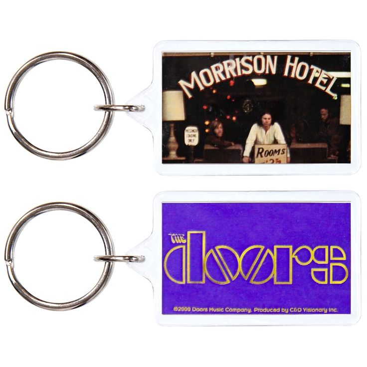 The Doors - Morrison Hotel Keychain