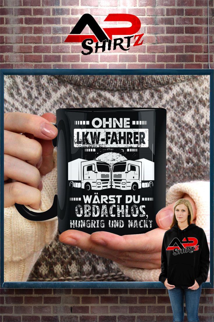 Tasse Ohne LKW Fahrer wärst du...    Hier erhältlich: https://www.shirtee.de/acohnelkw <<<<     Sicherer Zahlungsverkehr     Qualitativ hochwertige Textilien     Versand aus Deutschland Weitere Designs im Shop:  http://brummishop.shirtee.de <<<<<<
