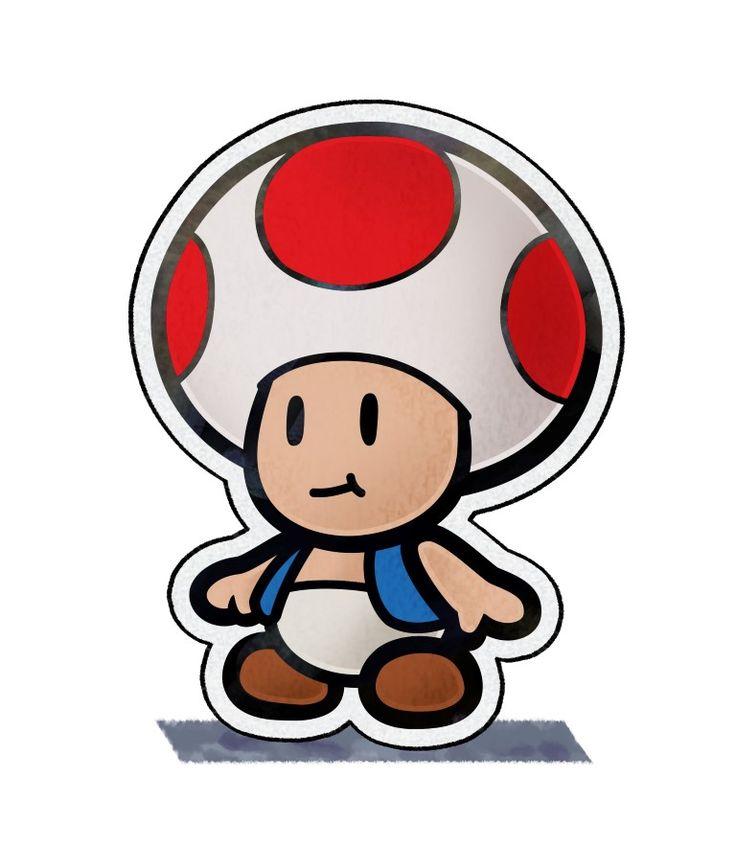 Paper Toad - Mario & Luigi: Paper Jam Bros