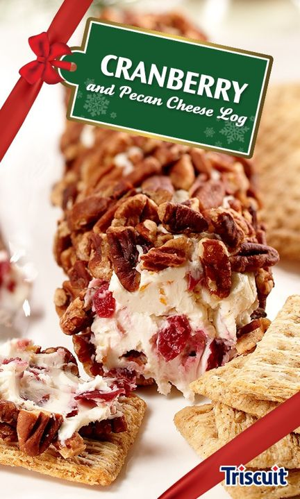 Try our delicious take on the traditional Yule Log. Serve with TRISCUIT Rosemary & Olive Oil Crackers for an appetizer your holiday guests are sure to love.