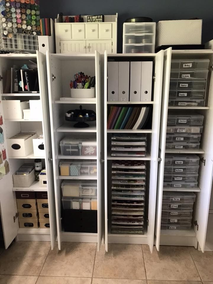 Craft Room Storage Cabinets From Lowe S Scrapbook Storage Lowes Storage Cabinets Craft Room