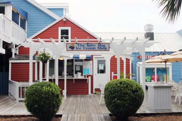 Salty Dog Ice Cream -- Hilton Head Island, South Carolina