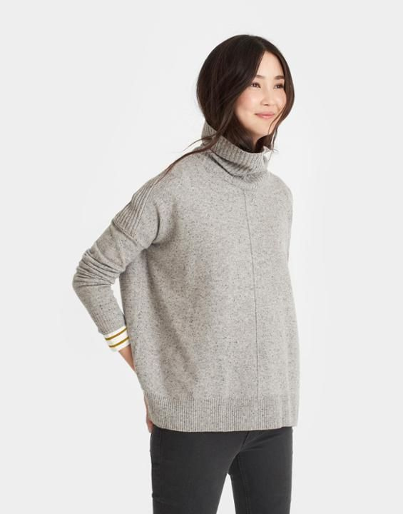 ROLANDATurtle Neck Sweater