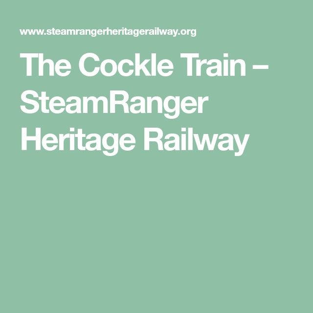 The Cockle Train – SteamRanger Heritage Railway