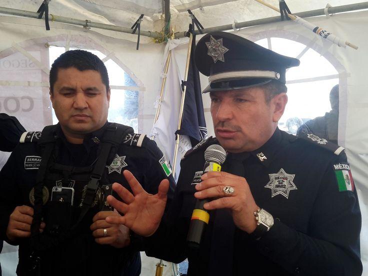 <p>Chihuahua, Chih.- En el marco del Día de la Libertad de Expresión el Comisario de la Policía Federal en Chihuahua, Teófilo Gutiérrez,