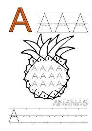 Pracovní listy k jednotlivým písmenům abecedy.