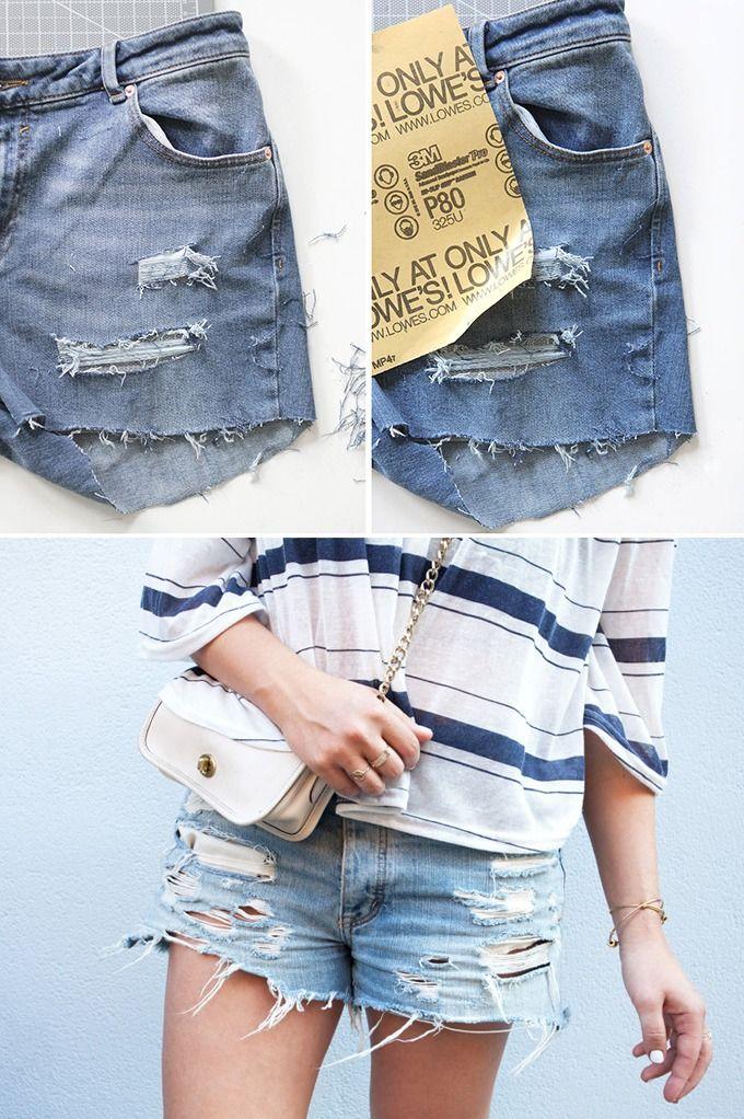 cool 50 Идей, как из старых женских джинс сделать модные шорты — Пошаговые фото инструкции Читай больше http://avrorra.com/kak-iz-dzhins-sdelat-modnye-shorty-foto/
