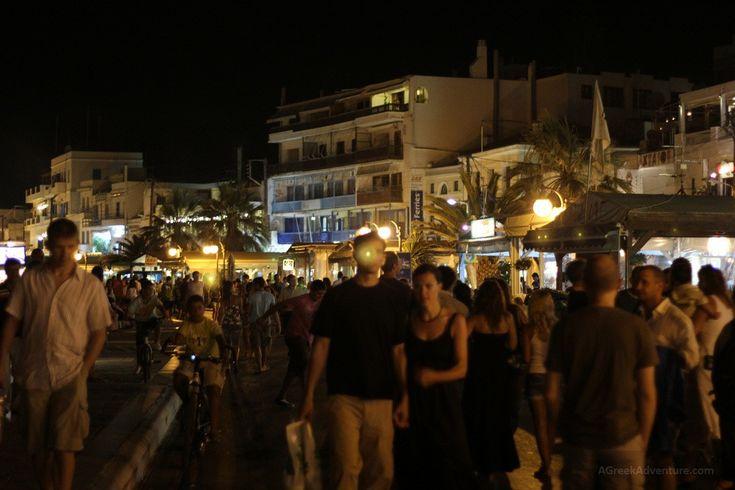 Naxos Greece nightlife