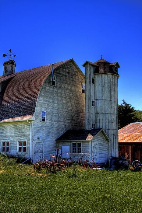 Dahmen Barn V by David Patterson - Dahmen Barn V Photograph - Dahmen Barn V Fine Art Prints and Posters for Sale