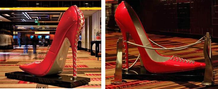 Giant bitch shoe