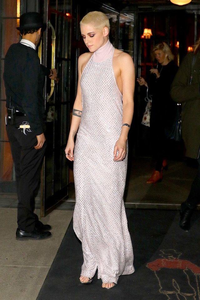 Kristen Stewart in Chanel, NYC premiere of Personal Shopper