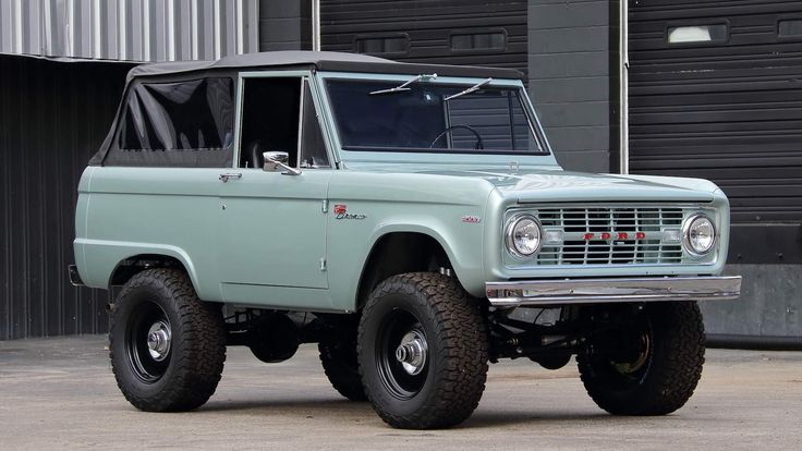 Pin by John Robbins on FoMoCo in 2020 Ford bronco