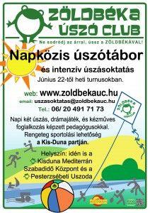 Napközis Úszótábor 2015 ZBUC