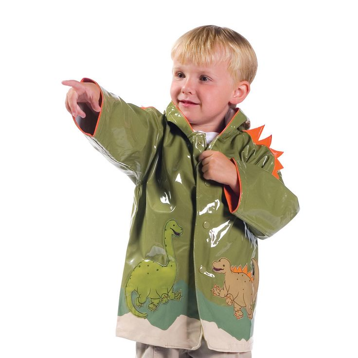 This Kidorable Dinosaur rain coat has an irresistible and eye-catching design that any little boy will LOVE.  It is made from premium quality PU with a lightweight, comfortable printed nylon lining.