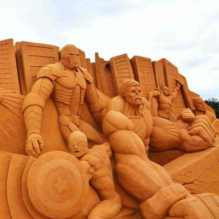 Sand Sculpting, Mornington Peninsula.