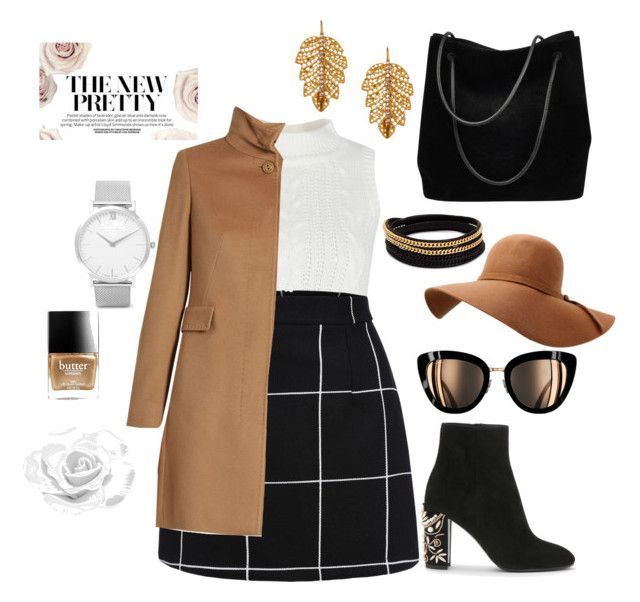 #ABC📰 by Angel1324❤️ on Polyvore featuring polyvore, fashion, style, MaxMara, Gucci, Marika, Larsson & Jennings, Vita Fede, Butter London and clothing