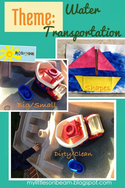 Images of Water Transportation Theme For Preschool - #rock-cafe