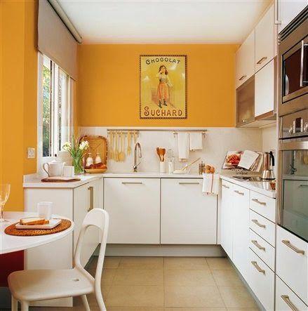 Vemos cómo organizar y qué colores usar en la cocina para crear una energía positiva y buenas vibraciones.