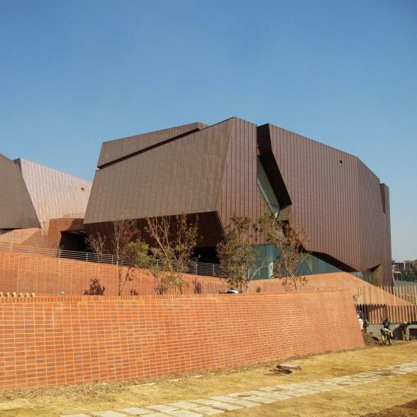 Freedom Park Museum in Pretoria, South Africa