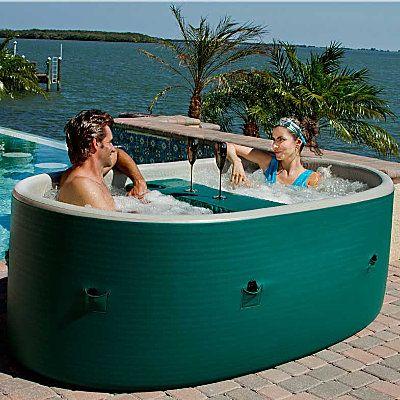 15 best Portable Hot Tub Spa images on Pinterest Whirlpool - pool garten aufblasbar